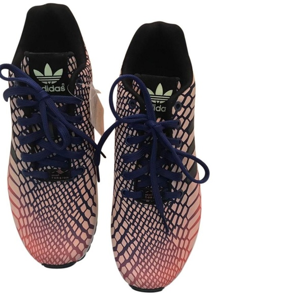 3737f1db4c27 ADIDAS Sunglow Zx Flux Running Sneakers Shoes